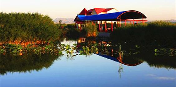巴州库尔勒焉耆相思湖旅游景区图片